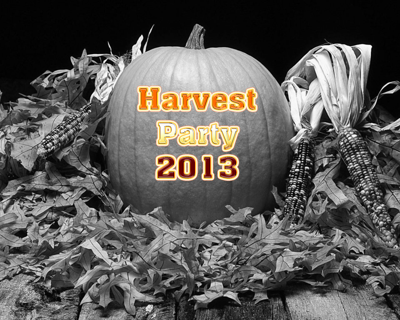 harvest party -2013
