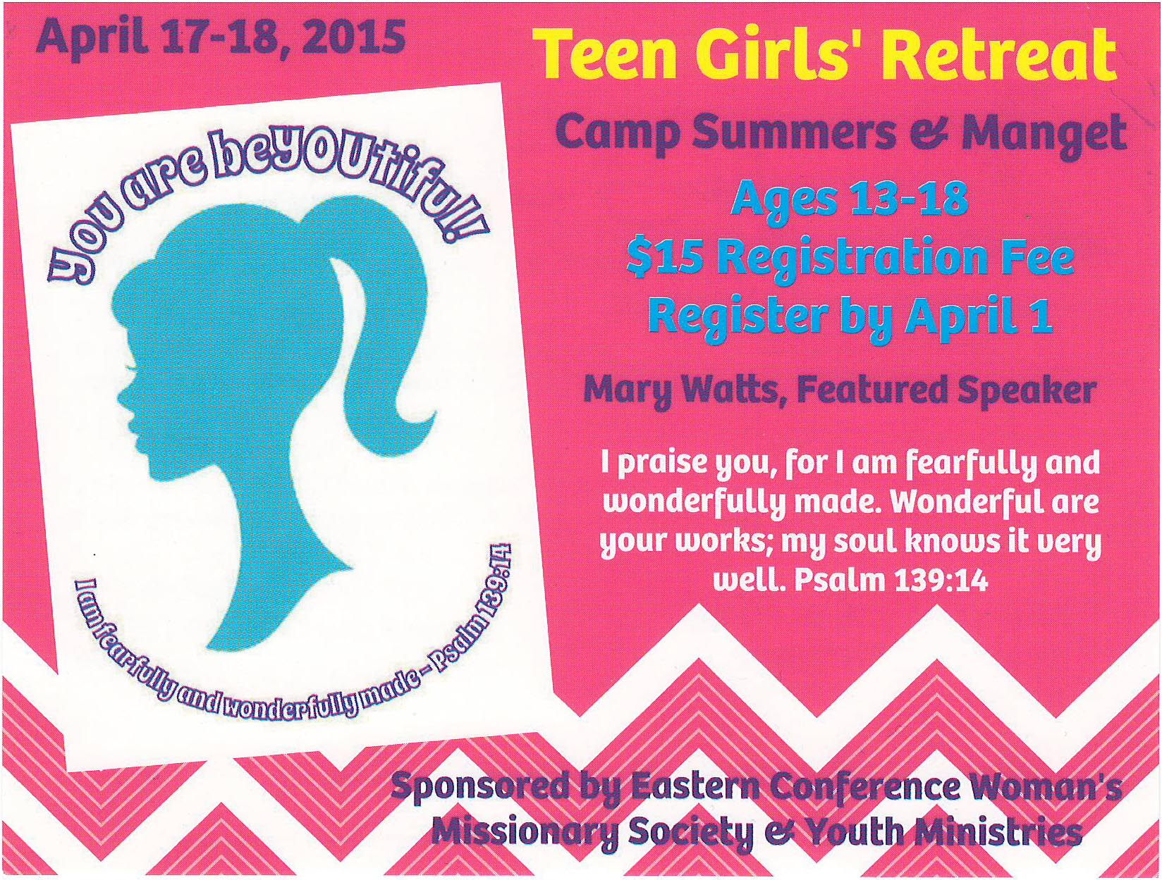 teen girls retreat